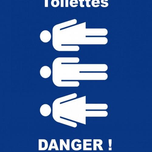 Les toilettes de l'entreprise